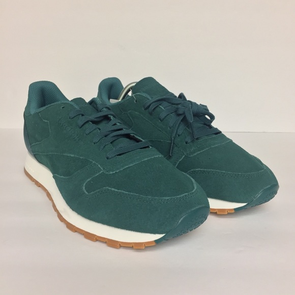 ea492d1877e Reebok Classic Leather Green Gum Sz 10.5 BD6014